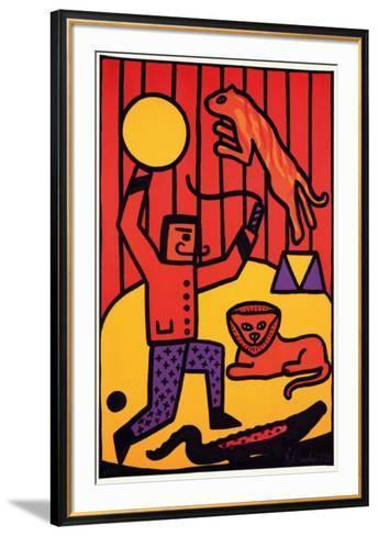 Le Cirque-Remi Blanchard-Framed Art Print