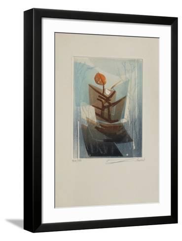 Paysage Indochinois IV-Lebadang-Framed Art Print