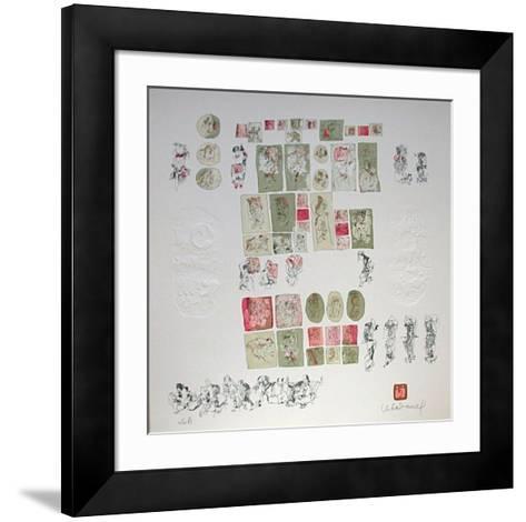 Comedie Humaine II-Lebadang-Framed Art Print