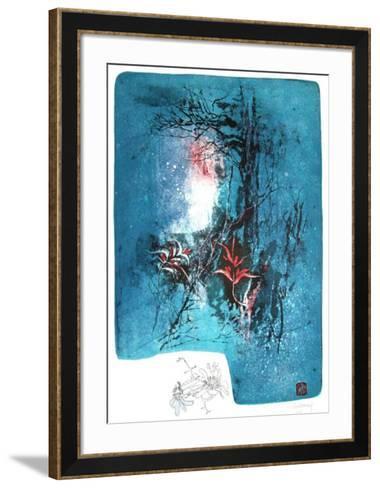 Fleur V-Lebadang-Framed Art Print