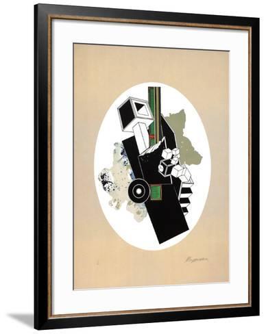 Plan II-Alain Le Yaouanc-Framed Art Print