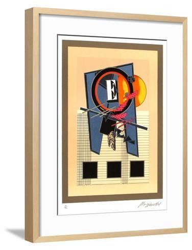E Constant dans Lattente-Alain Le Yaouanc-Framed Art Print