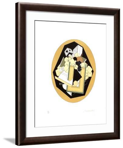 Fraction-Alain Le Yaouanc-Framed Art Print