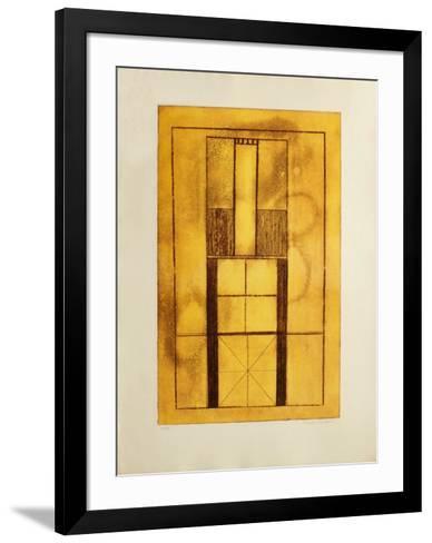 Composition Abstraite-Francois Houdart-Framed Art Print