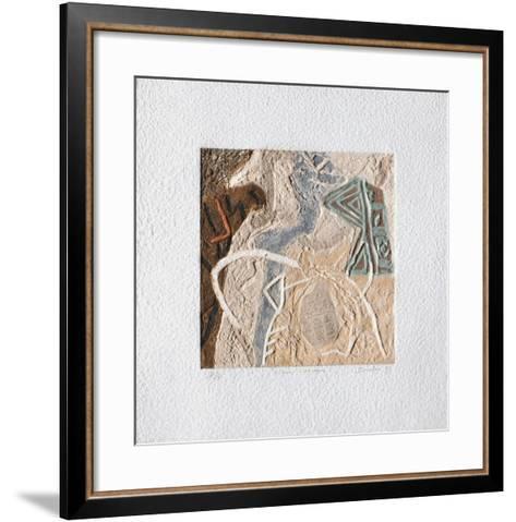 Signes Convexes-Pierre Duclou-Framed Art Print