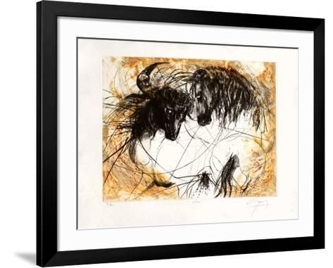 Chico-Jean-marie Guiny-Framed Art Print