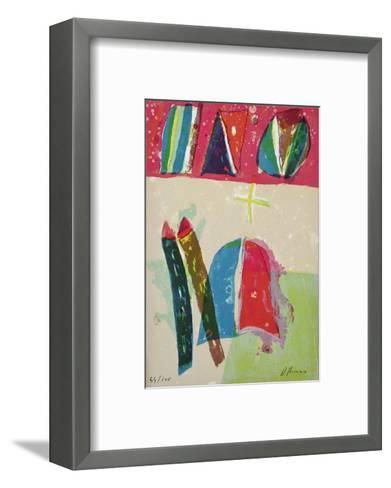 Composition VIII-Daniel Humair-Framed Art Print