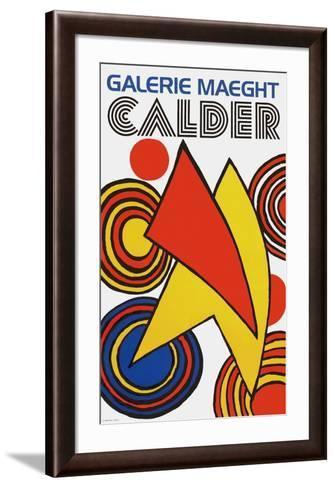 Galerie Maeght, 1973-Alexander Calder-Framed Art Print
