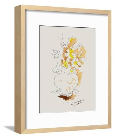 Carnets Intimes IV-Georges Braque-Framed Art Print