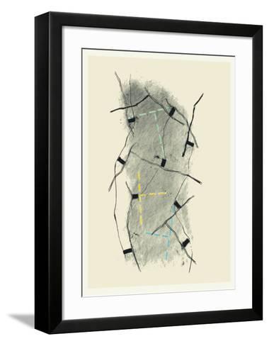 Reseaux I-Francois Bruetschy-Framed Art Print