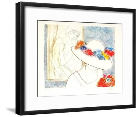 P?ch?s capitaux : l'envie-Jean-Baptiste Valadie-Framed Art Print