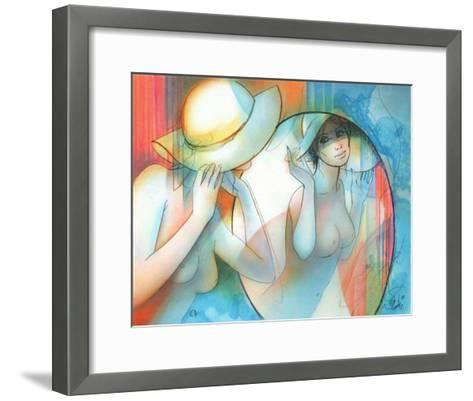 Peches Capitaux - Lorgueil-Jean-Baptiste Valadie-Framed Art Print