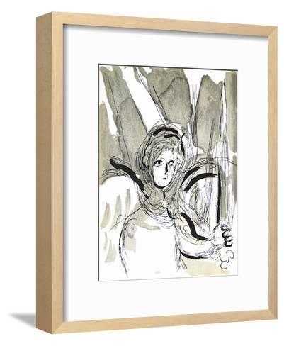 Bible: Lange a Lepee-Marc Chagall-Framed Art Print