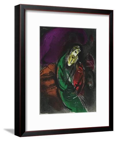 Bible: Jeremie-Marc Chagall-Framed Art Print
