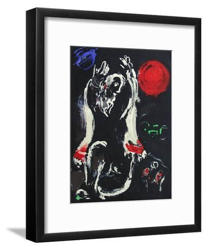 Bible: Isaie-Marc Chagall-Framed Art Print