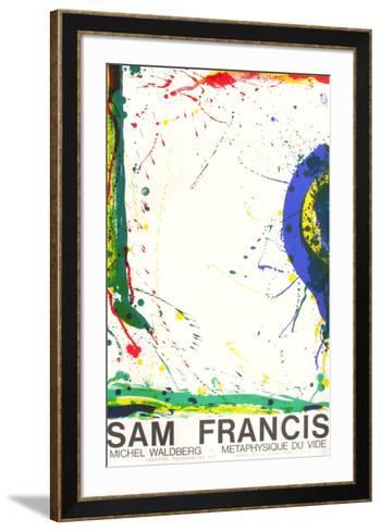 Metaphysique du Vide-Sam Francis-Framed Art Print