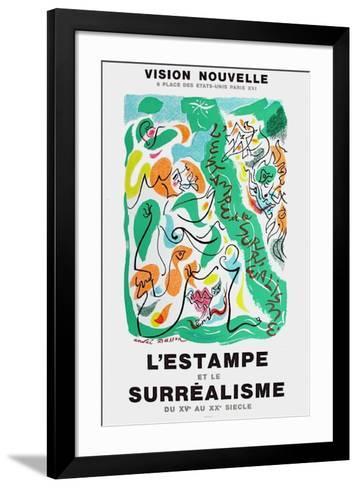 L'Estampe et le Surrealisme-Andr? Masson-Framed Art Print