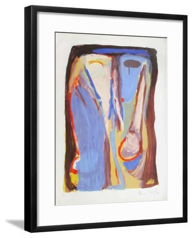 MP 059-Bram van Velde-Framed Art Print