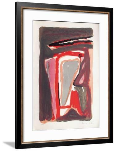 MP 252-Bram van Velde-Framed Art Print