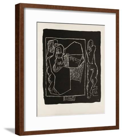 Entre-Deux No. 7-Le Corbusier-Framed Art Print