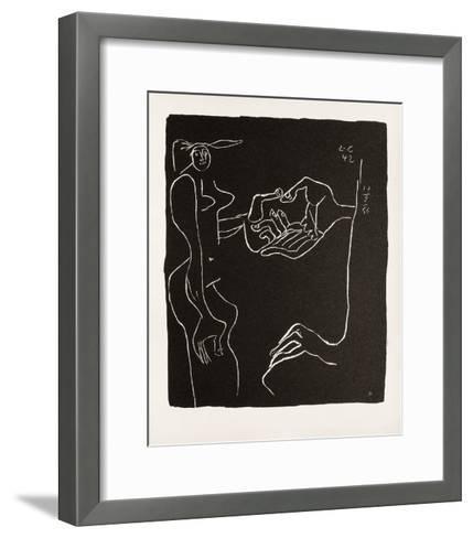 Entre-Deux No. 11-Le Corbusier-Framed Art Print
