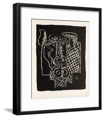 Entre-Deux No. 15-Le Corbusier-Framed Art Print