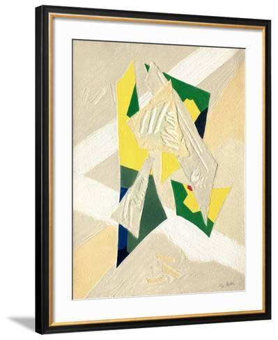 Composition-Bernard Alligand-Framed Art Print