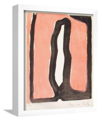 MP 091 Le crime d'une nuit-Bram van Velde-Framed Art Print