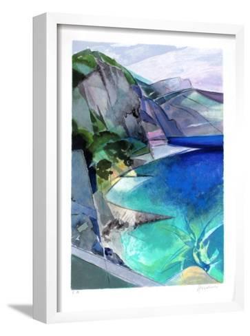 Cote d'Azur - Lesterel-Camille Hilaire-Framed Art Print