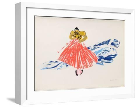Suite Corrida X-Daniel Milhaud-Framed Art Print