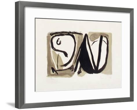 MP 189-Bram van Velde-Framed Art Print