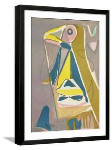 MP 192-Bram van Velde-Framed Art Print