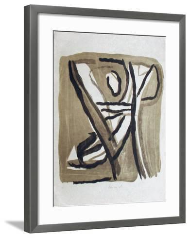 MP 241-Bram van Velde-Framed Art Print