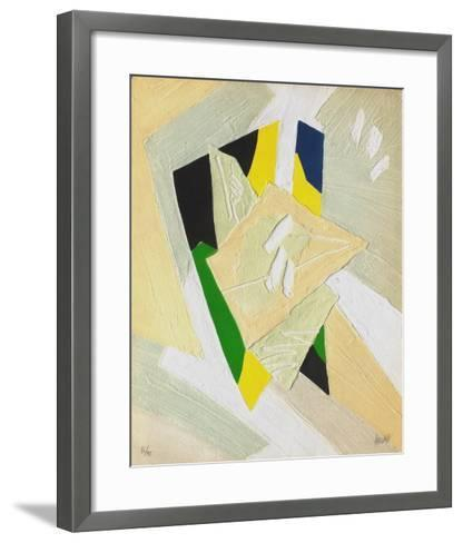 Astres de Lumiere III-Bernard Alligand-Framed Art Print