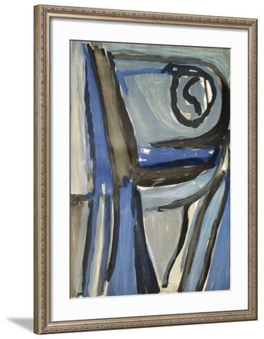 MP 248-Bram van Velde-Framed Art Print