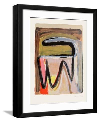 MP 250-Bram van Velde-Framed Art Print