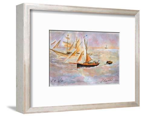 Marine IV-Urbain Huchet-Framed Art Print