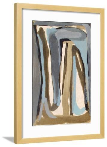 MP 315-Bram van Velde-Framed Art Print