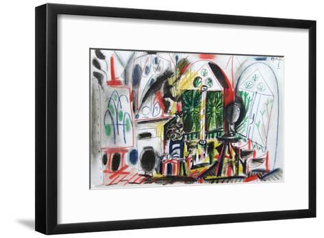 Carnet de Californie 36-Pablo Picasso-Framed Art Print