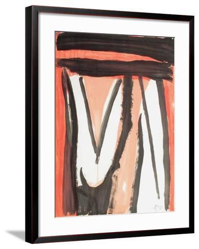 MP 360-Bram van Velde-Framed Art Print