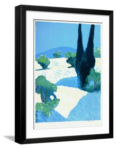 Le cypr?s-Roger Muhl-Framed Art Print