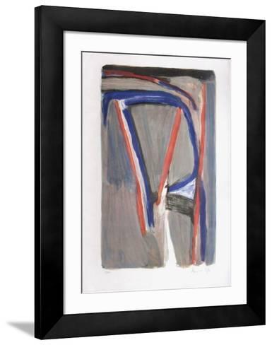 MP 384-Bram van Velde-Framed Art Print