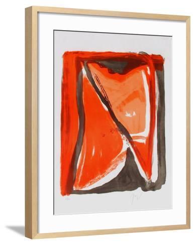 MP 400 Fenêtre-Bram van Velde-Framed Art Print
