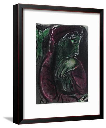 Bible: Job Desespere-Marc Chagall-Framed Art Print