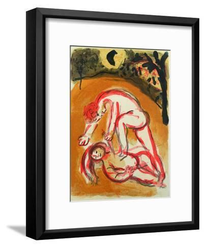 Bible: Cain et Abel-Marc Chagall-Framed Art Print