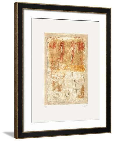 Composition II-Thierry Buisson-Framed Art Print
