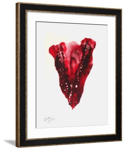 Composition II-Christian Jaccard-Framed Art Print