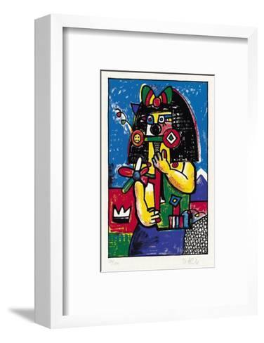 Jungfrau-Otmar Alt-Framed Art Print