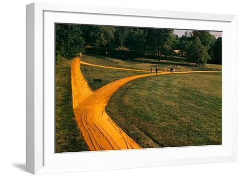 Walk Ways, 1978-Christo-Framed Art Print