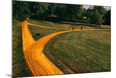 Walk Ways, 1978-Christo-Mounted Collectable Print